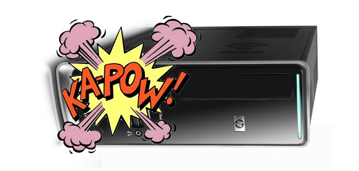 KaPow!!! What to do when your Desktop Dies!